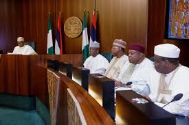 Breaking: Buhari in a meeting with governors in Aso Rock