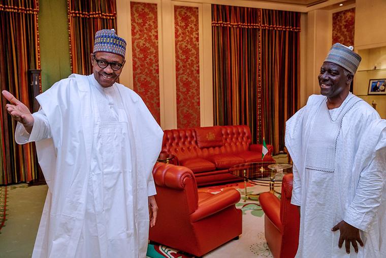 Buhari receives new DSS DG