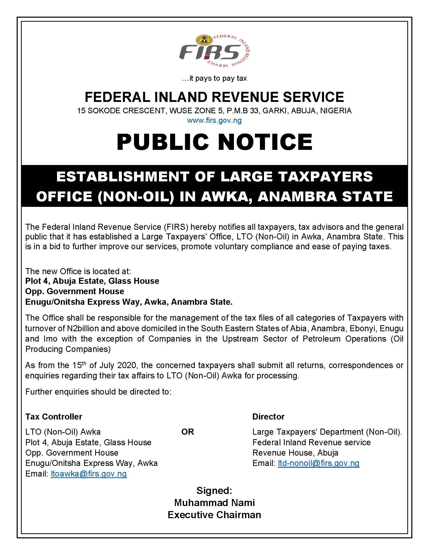 PUBLIC-NOTICE-ON-LTO-NON-OIL-AWKA.jpg